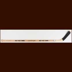 Bobby Smith Minnesota North Stars CCM Game Used Stick  - Rookie – Autographed