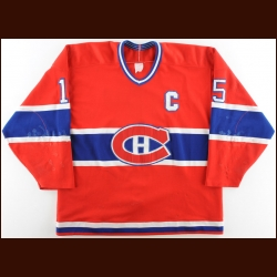 Late 1980's Bobby Smith Montreal Canadiens Game Worn Jersey