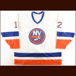 1989-90 Mick Vukota New York Islanders Game Worn Jersey – The Terrence Murphy Collection – Joe Murphy Letter