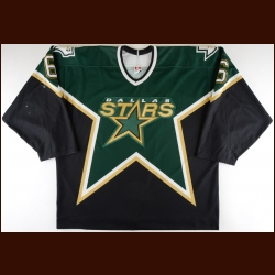 2003-04 Chris Therien Dallas Stars Game Worn Jersey – Team Letter