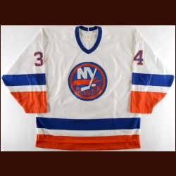 1988-89 Rob Dimaio New York Islanders Game Worn Jersey – Rookie