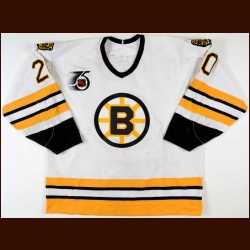 1991-92 Bob Sweeney Boston Bruins Game Worn Jersey