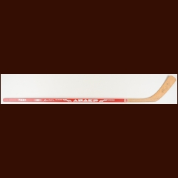 Sergei Fedorov Autographed Red Sportech Stick - Unused