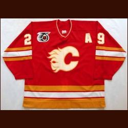 1991-92 Joel Ott...Flames Game