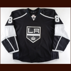 2015-16 Drew Doughty Los Angeles Kings Game Worn Jersey - Norris Trophy - 1st Team NHL All Star - All Star Season - Photo Match – Team Letter