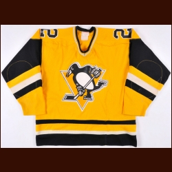 1983-84 Mike Bullard Pittsburgh Penguins Game Worn Jersey