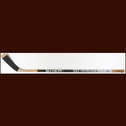 Duane Sutter Chicago Blackhawks Black Sher-Wood Game Used Stick