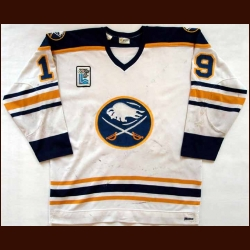 "1979-80 Derek Smith Sabres Game Worn Jersey - ""1980 Olympic"""