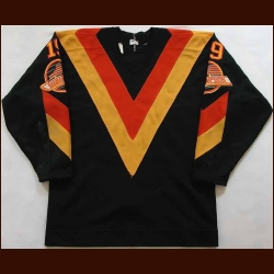 1982-83 Ron Delorme Vancouver Canucks Game Worn Jersey