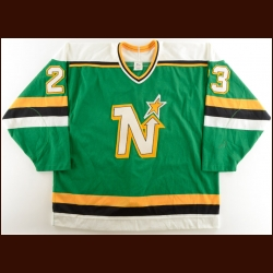 1990-91 Brian Bellows Minnesota North Stars Game Worn Jersey – The Terrence Murphy Collection – Joe Murphy Letter