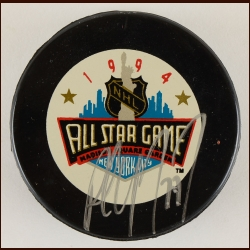 Paul Coffey 1994 All Star Autographed Puck