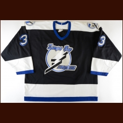 1993-94 Manon Rheaume Tampa Bay Lightning Team Issued Jersey