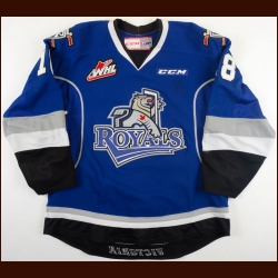 2014-15 Brandon Magee Victoria Royals Game Worn Jersey