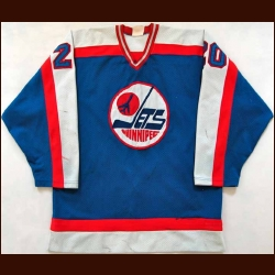 Early 1980's Willy Lindstrom Jets Game Worn Jersey