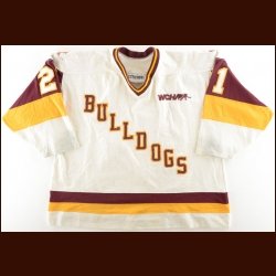 Early 1990's University of Minnesota-Duluth Game Worn Jersey – Player #21