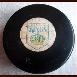 Los Angeles Kings Old Style Logo Puck