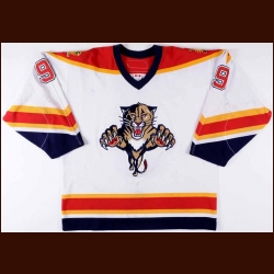 2006-07 Steve Weiss Florida Panthers Game Worn Jersey - Team Letter