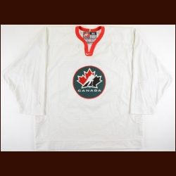 2002 Alex Tanguay Team Canada Olympic Training Camp Worn Jersey