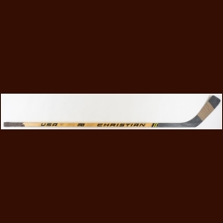 Jaromir Jagr Pittsburgh Penguins Christian USA Game Used Stick