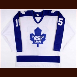 1988-89 Peter Ihnacak Toronto Maple Leafs Game Worn Jersey
