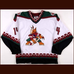 1998-99 Mike Stapleton Phoenix Coyotes Game Worn Jersey