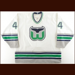 1993-94 Chris Pronger Hartford Whalers Game Worn Jersey – Rookie