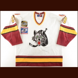 "2000-01 Paul Kruse Chicago Wolves Game Worn Jersey – ""2001 Turner Cup Championship"""