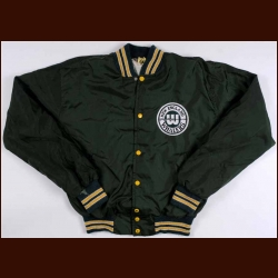 WHA New England Whalers Green Warm-Up Jacket