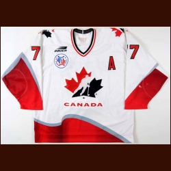 1996 Paul Coffey Team Canada World Cup Game Worn Jersey - NHLPA Letter