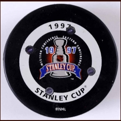 1997 Stanley Cup Finals FoxTrax Puck - Very Rare