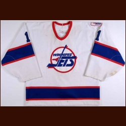 1993-94 Mike O'Neill Winnipeg Jets Game Worn Jersey