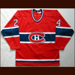 1986-87 Chris Chelios Canadiens Game Worn Jersey