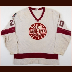 1970's Flin Flon Bombers Game Worn Jersey – Player #20
