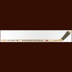 Ray Bourque Boston Bruins White Sher-Wood Game Used Stick - #7 – Early career stick