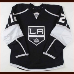 2011-12 Simon Gagne Los Angeles Kings Game Worn Jersey - Stanley Cup Season - Team Letter
