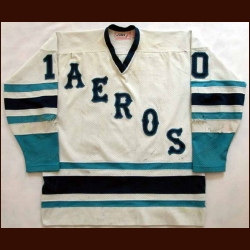 1977-78 John Gray Houston Aeros Game Worn Jersey
