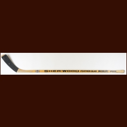 Russ Courtnall Montreal Canadiens Game Used Stick