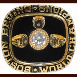 1970 Boston Bruins Replica Stanley Cup Championship Ring - Bobby Orr