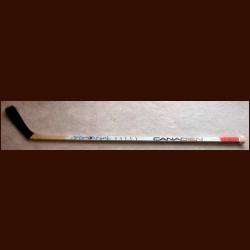 Denis Savard Canadien Game Used Stick - Autographed