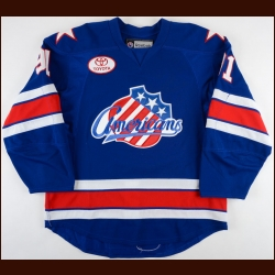 2012-13 Frederick Roy Rochester Americans Game Worn Jersey – Team Letter