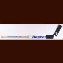 Chris Osgood New York Islanders White Hespeler Game Used Stick – Autographed