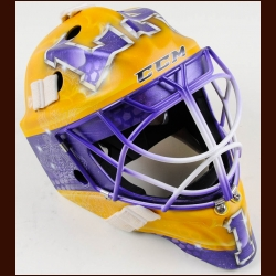 Jhonas Enroth Los Angeles Kings CCM/Lefebvre Game Issued Mask – Also Includes Carrying Case - The Jonathan Bernier Collection – Jonathan Bernier Letter