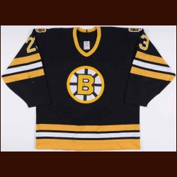 1988-89 Craig Janney Boston Bruins Game Worn Jersey