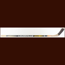 Ron Francis Pittsburgh Penguins Black Louisville Game Used Stick – Autographed – Team COA