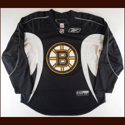 2008-09 Mark Stuart Boston Bruins Practice Worn Jersey