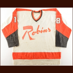 1971-72 Hank Nowak Richmond Robins Game Worn Jersey – Inaugural Season