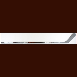 Brian Campbell Chicago Blackhawks Black Warrior Game Used Stick