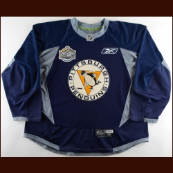"2010-11 Arron Asham Pittsburgh Penguins Winter Classic Practice Jersey – ""2011 Winter Classic"""