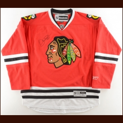 Dylan Olsen Chicago Blackhawks Autographed Replica Jersey