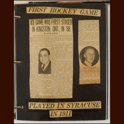 The History of Syracuse Hockey